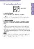 Sony NWZ-E445 - NWZ-E445 Consignes d'utilisation Allemand - Page 7