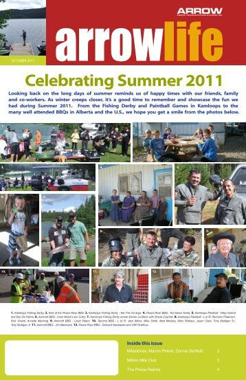 Celebrating Summer 2011 - Arrow Transportation Systems Inc