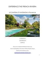 Le Chateau D'Avignon - Provence