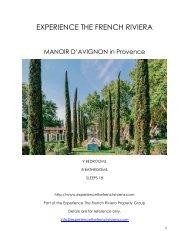 Manoir d'Avignon - Provence
