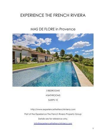 Mas De Flore - Provence