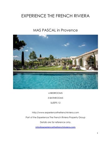 Mas Pascal - Provence