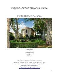 Petit Hopital - Provence