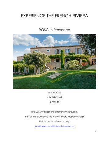 Rosc - Provence