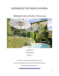 Terrasse Des Alpilles - Provence