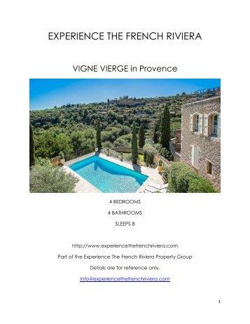 Vigne Vierge - Provence