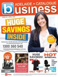 Adelaide Business Catalogue