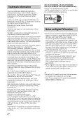 Sony KDL-42W805A - KDL-42W805A Guida di riferimento Danese - Page 2