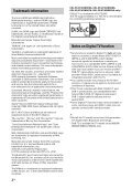 Sony KDL-42W805A - KDL-42W805A Guida di riferimento Olandese - Page 2