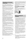 Sony KDL-42W805A - KDL-42W805A Guida di riferimento Olandese - Page 6