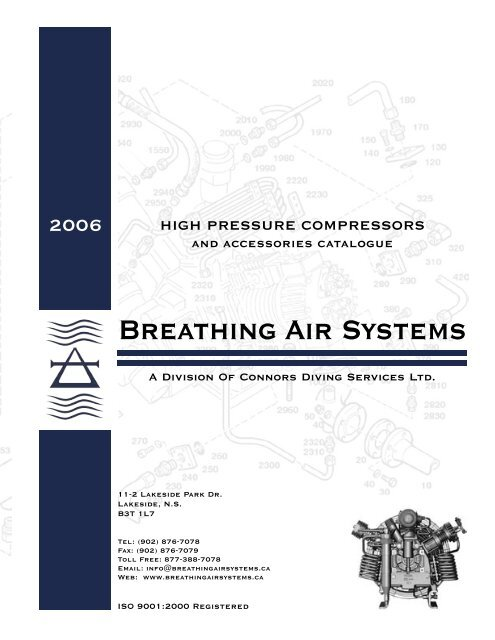 Breathing Air Systems A Division Of Connors Diving Services Ltd