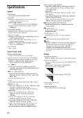 Sony KDL-42W805A - KDL-42W805A Guida di riferimento Turco - Page 4