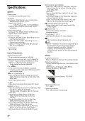 Sony KDL-42W805A - KDL-42W805A Guida di riferimento Russo - Page 4