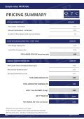 Sample value Proposal - Page 5