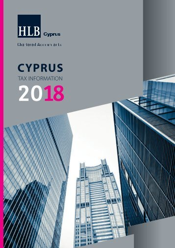English Tax Booklet 2018