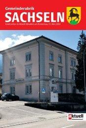 Gemeinde Sachseln 2018-12