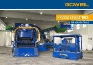 Presse e filmatrici industriali | Goeweil