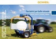 Fasciatrice per balle rotonde | Serie G50 | Goeweil