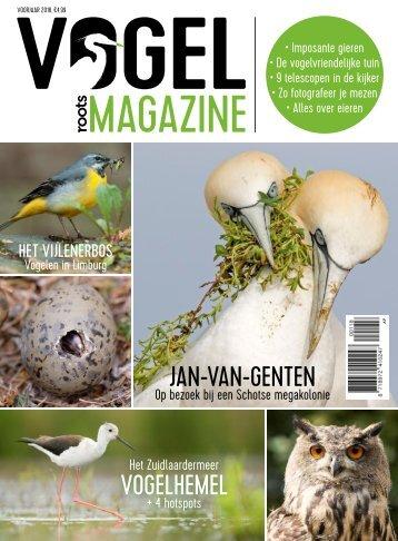Roots Vogelmagazine editie 1 - Voorjaar 2018