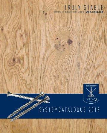 Systemcatalogue 2018
