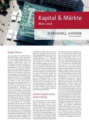 Kapital & Märkt: Ausgabe März 2018
