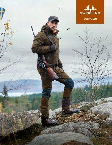 Swedteam Jagbekleidung Katalog 2018/2019