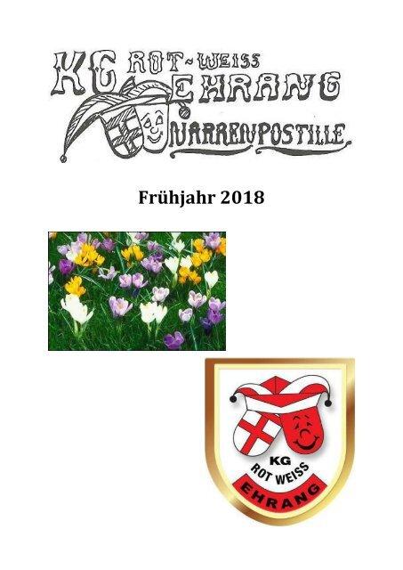 Narrenpost Frühjahr 2018