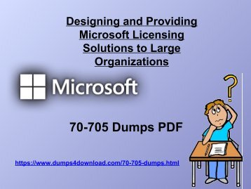 Microsoft 70-705 Dumps - Microsoft 70-705 Latest Study