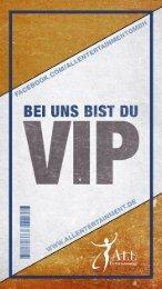 Bei uns bist du VIP