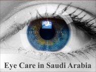 Eye Care in Saudi Arabia