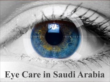 Eye Care in Saudi Arabia