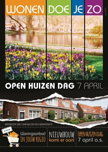 WonenDoeJeZo in Noord-Oost Nederland, #april 2018