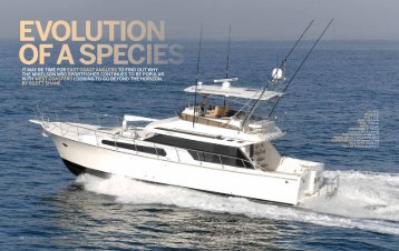 Evolution of a Species - Mikelson Yachts, Inc.
