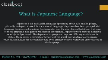japanese classes in pune