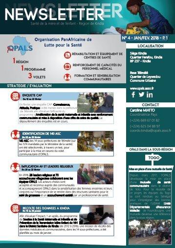 Newsletter OPALS - janv_fev 2018