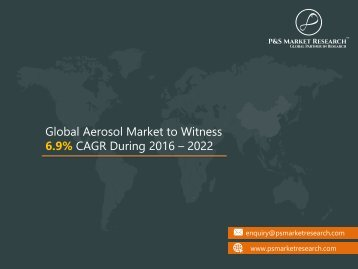 Global Aerosol Market