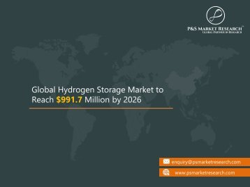 Global Hydrogen Storage Market