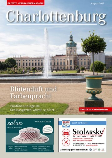 Gazette Charlottenburg Nr. 8/2017