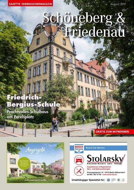 Gazette Schöneberg & Friedenau Nr. 8/2017