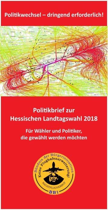 Politikbrief zur Hessischen Landtagswahl 2018 - Flyerformat (Stand 21.03.2018)