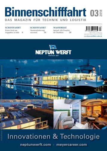Motorenförderung (Binnenschifffahrt 03 | 2018