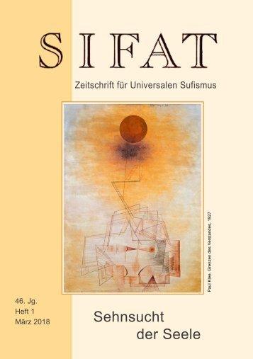 SIFAT - Zeitschrift für Universalen Sufismus - 2018 Heft 1 - März (Leseprobe)