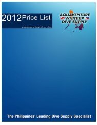 View Price List - Aquaventure Whitetip