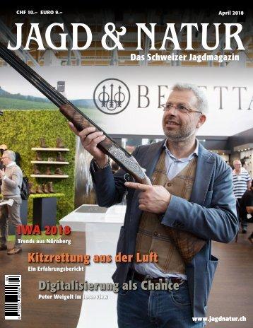 Jagd & Natur Ausgabe April 2018 | Vorschau