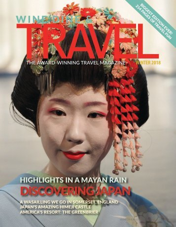Wine Dine & Travel Magazine Japan Special Issue