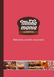 Catálogo de produtos Minha Mania
