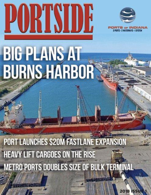 Portside Magazine: Big Plans at Burns Harbor
