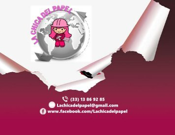 Catalogo 2018 La Chica Del Papel