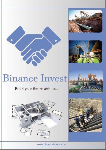 Binance invest profile