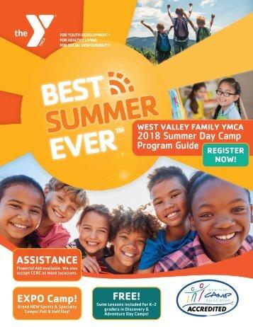 2018 Summer Day Camp - Program Guide